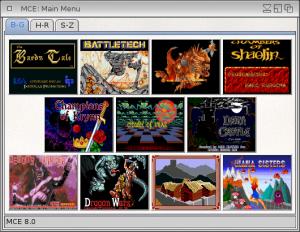 Multi-game Caracter Editor